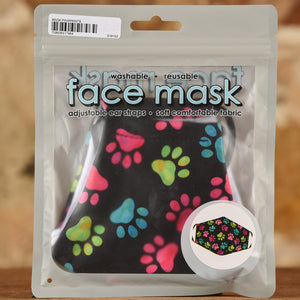 Pawprints Mask- Adult Size