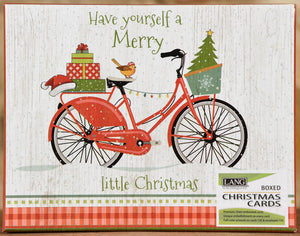 Boxed Cards - Christmas Bike