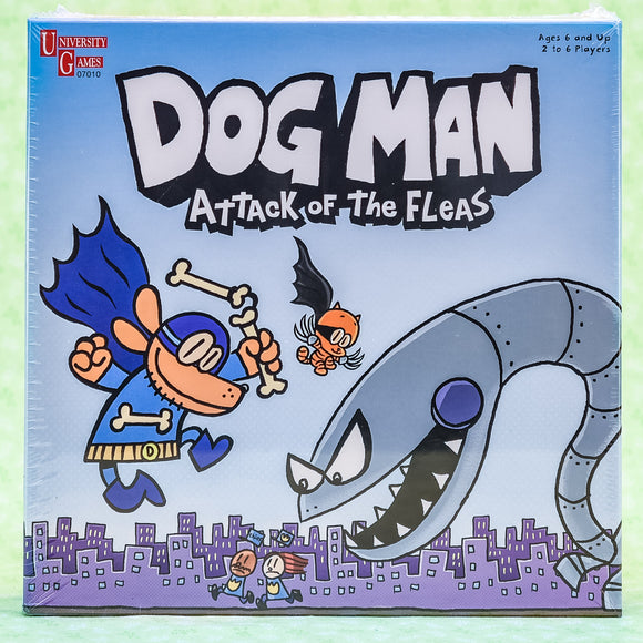 Dog Man Attack Of The Fleas