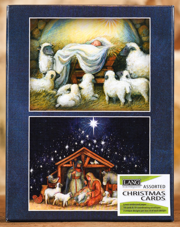 Boxed Cards - Nativity Set