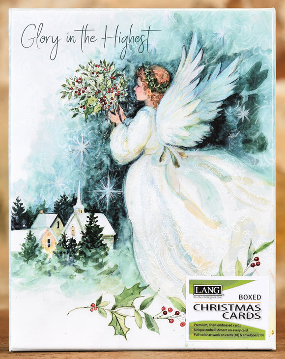 Boxed Cards - Angel of Christmas