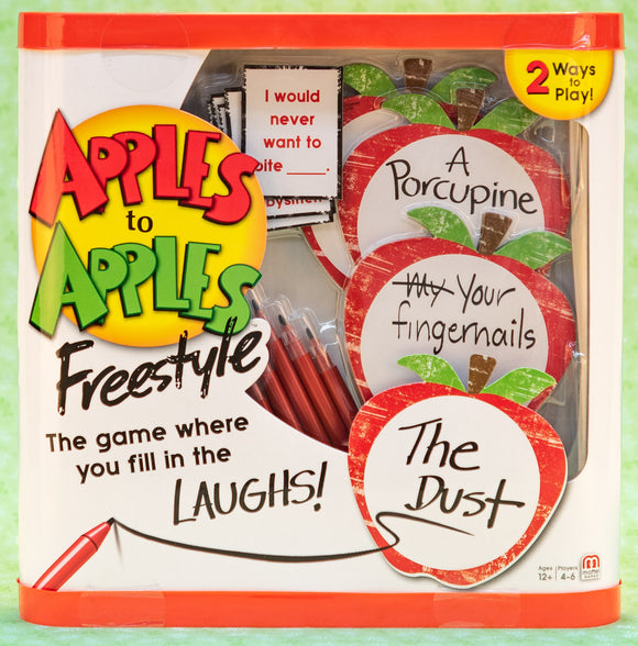 Apples to Apples - Freestyle