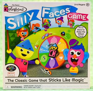 Colorforms - Silly Faces Game