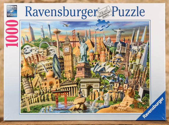 World Landmarks 1000 Piece Puzzle