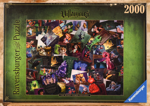 All Villians 2000 Piece Puzzle