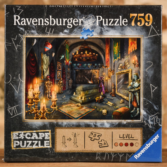 Vampire's Castle  759 Piece Escape Puzzle