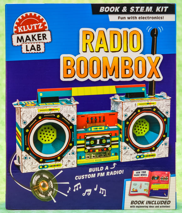 Radio Boombox - Klutz Maker Lab