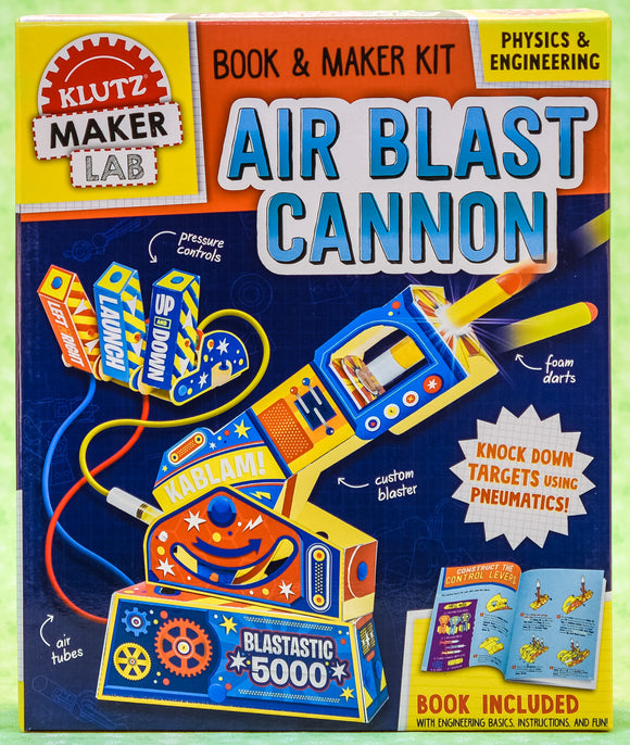 Air Blast Cannon - Klutz Maker Lab