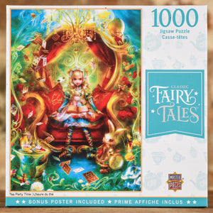Tea Party Time - Classic Fairy Tales 1000 Piece Puzzle
