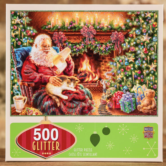 Christmas Dreams 500 Piece Glitter Puzzle