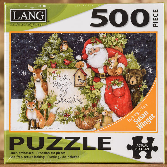 Magic of Christmas 500 Piece Puzzle