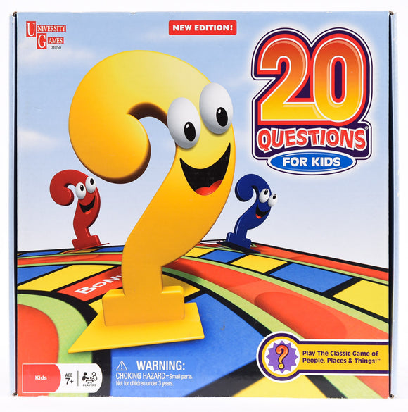 20 Questions - For Kids