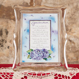 Musical Frame - Grandmother (Hydrangea flowers)
