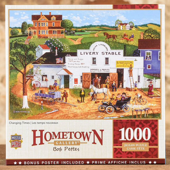 Changing Times - 1000 Piece Puzzle