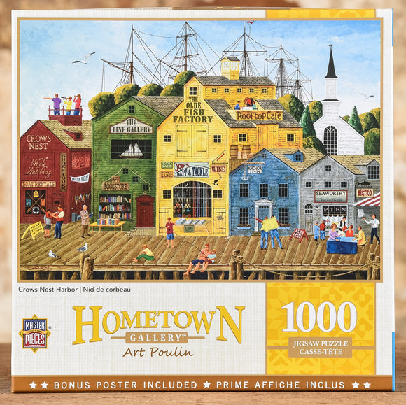 Crows Nest Harbor - 1000 Piece Puzzle