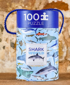 Thirty Six Animals 100 Piece Puzzle - Shark World