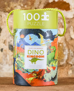 Thirty Six Animals 100 Piece Puzzle - Dino Kingdom