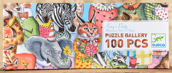 King's Party 100 Piece Gallery Puzzle