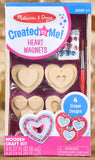 Created by Me! - Heart Magnets