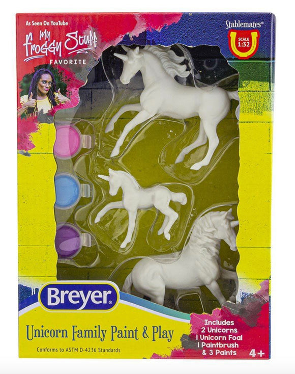 Stablemates - Unicorn Family Paint & Play