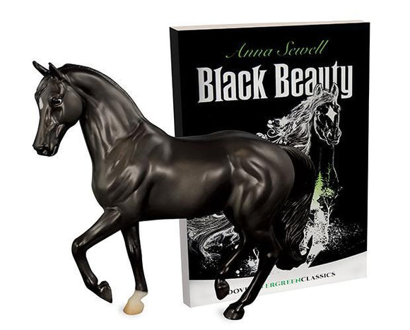 Classics - Black Beauty Horse & Book Set