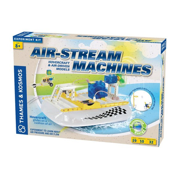 Air-Stream Machines - Hovercraft & Air Driven Models
