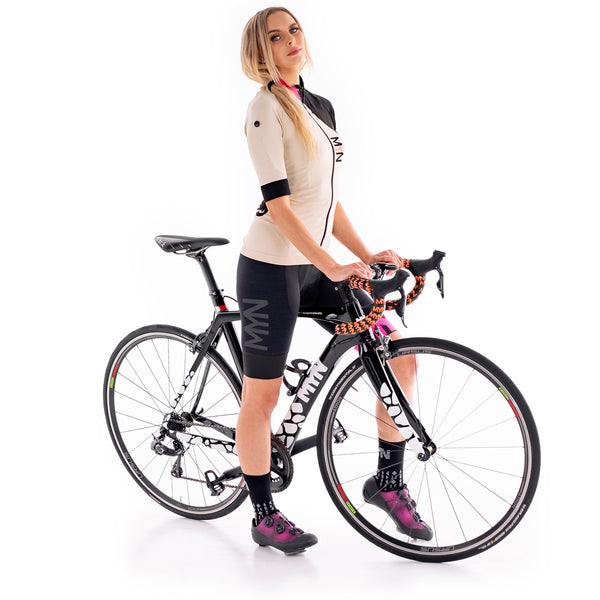 SNOBY Women's Lightweight Seamless Summer Cycling Jersey for Road, Tri, MTB, Gravel, Touring | Best Seller