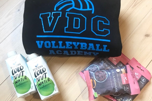 Foodin – Sharing Happiness with VDC Volleyball Academy