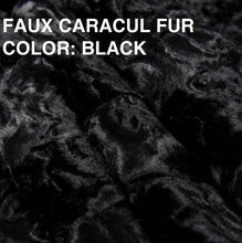 Load image into Gallery viewer, DRAGON ROSE FAUX FUR JACKET
