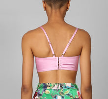 Load image into Gallery viewer, DRAGON ROSE TULIP BRALETTE TOP