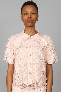 DRAGON ROSE LACE JACKET