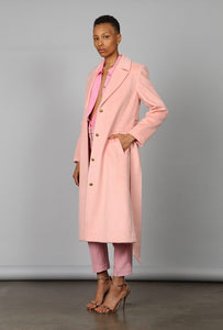 DRAGON ROSE TRENCH COAT