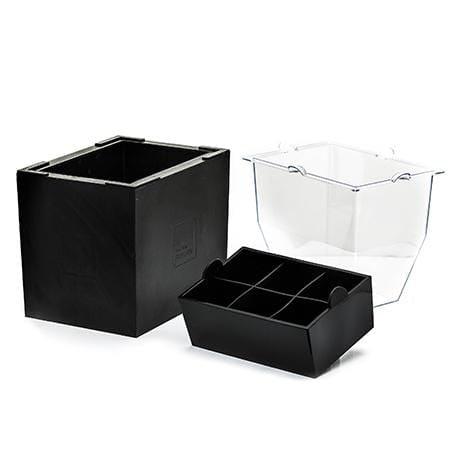 OnTheRocks Ice Box + Cube Tray