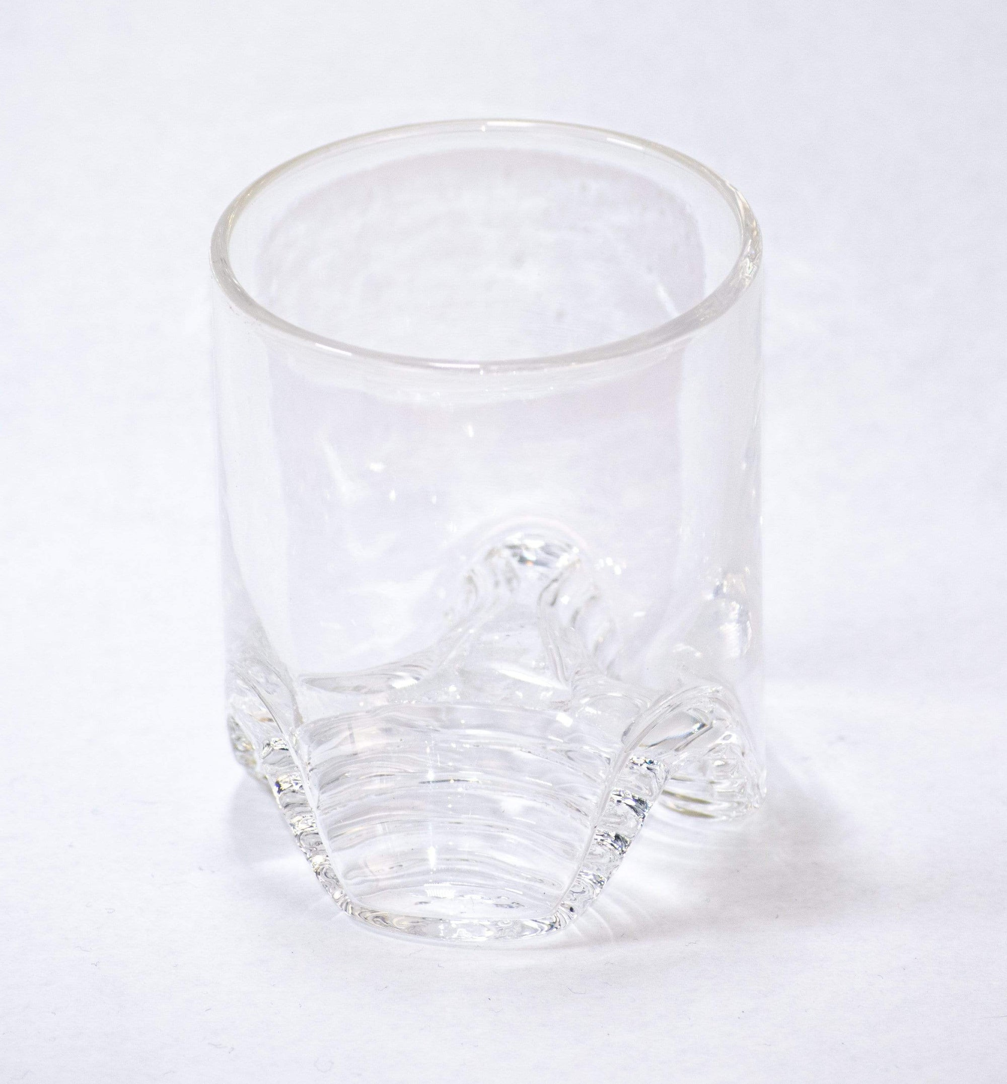 Hand-Blown Rocks Glasses