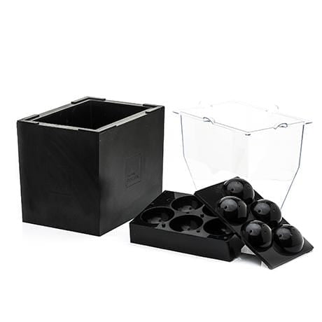 OnTheRocks Ice Box + Sphere Tray