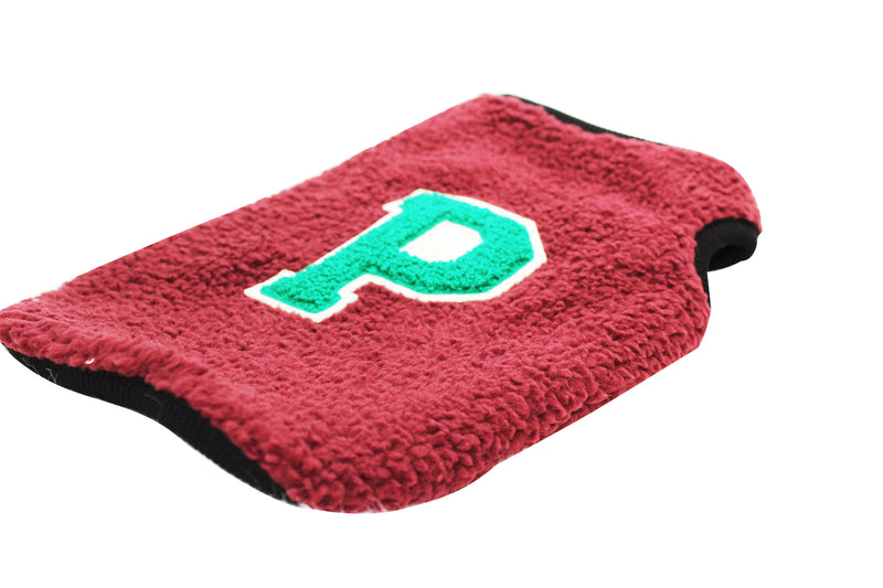 """P"" fleece Pullover Sweater - DogClothe.com"