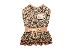 Cute dog dress in pink and blue - DogClothe.com