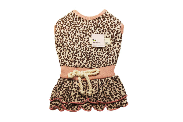 Cute dog dress in pink and blue #1924238
