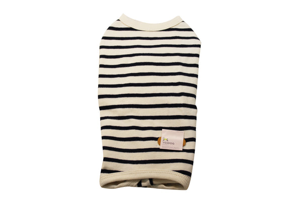 Cute striped dog sweater in all in one
