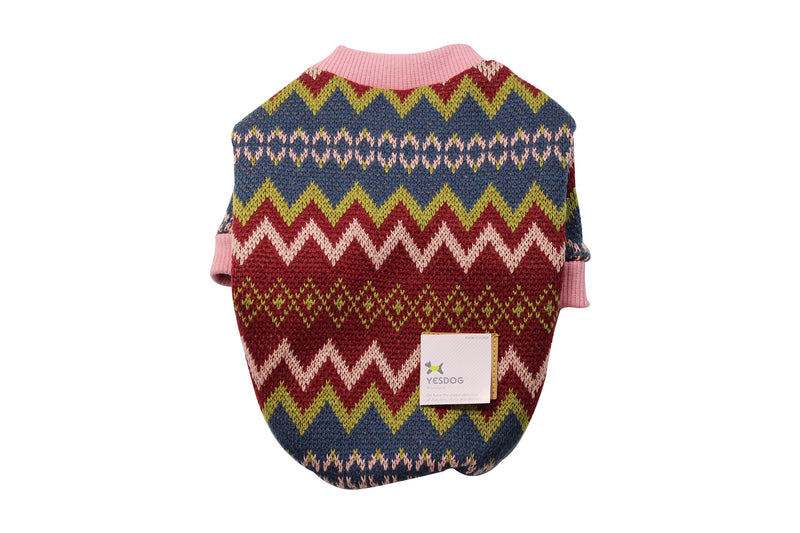 Cute dog sweater with frill and bow - DogClothe.com