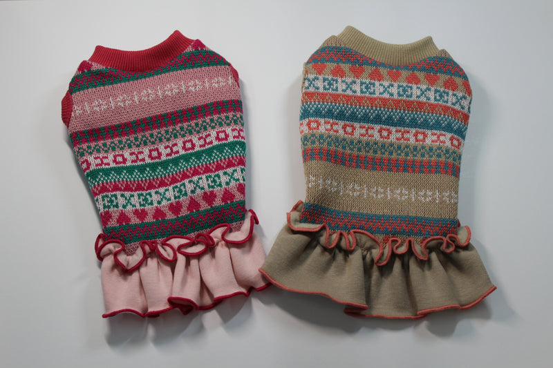 Cute traditionally patterned dog sweater - DogClothe.com