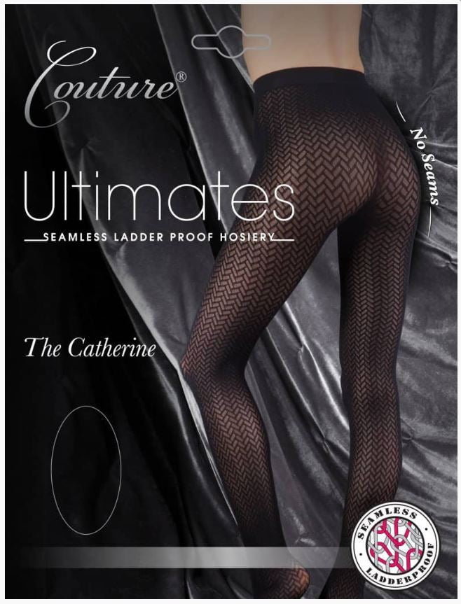 Couture Ultimates The Catherine Tights Hosiery Pantyhose Ladder proof Seamless