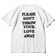 Load image into Gallery viewer, Please Don't Throw Your Love Away Back Print T-Shirt