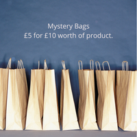 Mystery Bags £5 for £10 worth of product.