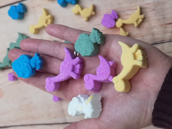 Bennysaurus and Friends Mini Bath Bombs