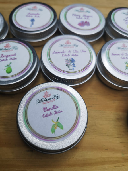 Vanilla Cuticle Balm