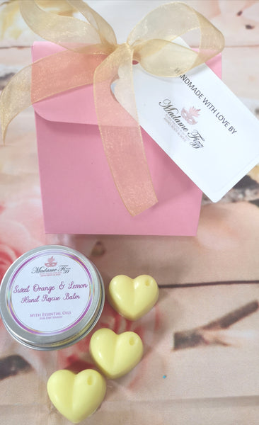 Hand Balm and Soap Gift Set .