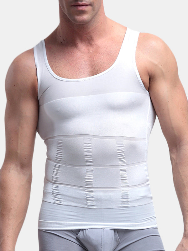 Men Sexy Slimming Tummy Body Shaper Bodybuilding Underwear Sport Vest Corset Shapewear Reducers Men