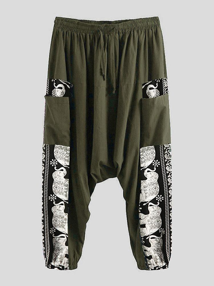 Men's Enthic Style Loose Harem Pants