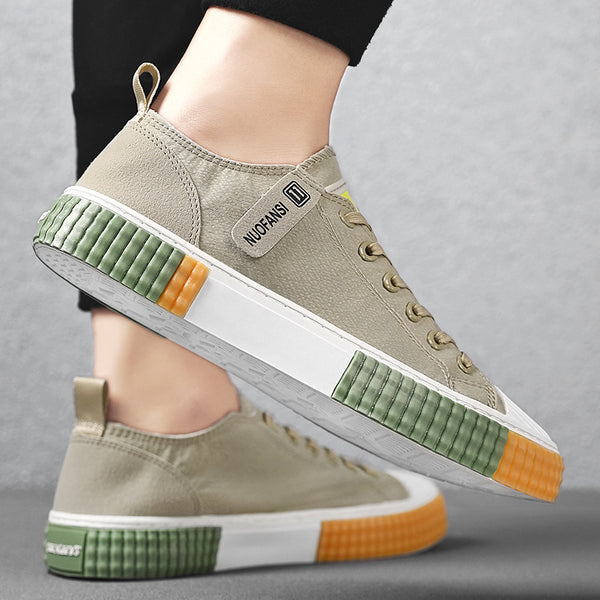 Men Stylish Cloth Breathable Non Slip Sport Casual Sneakers SKUF86646